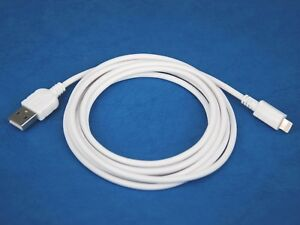 5ft 1.5M LONG Fast Charging ONLY USB Cable WHITE for iPhone XR XS Max X 8 Plus 7