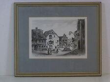 Originalzeichnungen mit Landschafts- & Stadtmotiven (ab 1950)