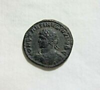 CONSTANTINE II, AE FOLLIS. AS CAESAR, THESSALONICA 320-321 AD. WREATH REVERSE