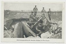 AK- Fort Loucin-deutsche Soldaten -Feldpost  1.WK  (e840)
