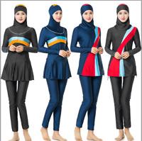 Muslim Women Sweimwear Full Cover Swinsuit Modest Burkini Islamic Beach Swimming