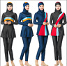 Muslim Women Sweimwear Full Cover Swinsuit Modest Burkini Islamic Beach Swimming
