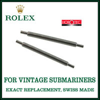 ♛ ROLEX Exact Replacement 20mm Spring Bars For Vintage Rolex Submariner Models ♛