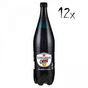12x Chinotto PET Flasche Chinò Dose 1,25 L San pellegrino Limonade bitterorange