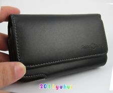 for Apple iPhone 7 6s 4.7 case Holster Belt Clip Black Leather Case Pouch
