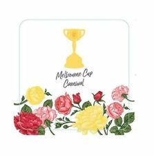 MELBOURNE CUP HORSE RACING COASTERS SPRING CARNIVAL PARTY TABLE DECORATION DRINK