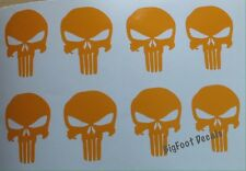 Punisher Decals (10) Small USA Sniper Military Navy Seal Army AR15 Mag Car Truck