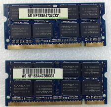 Apple IMAC 20 A1207 2006 Late Memory RAM 2 x 2 = 4 GB DDR2 PC2 6400S