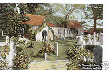 Isle of Wight Postcard - The Shadow of The Cross, Bonchurch  E498