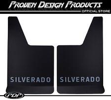 Chevrolet Silverado Z71 1500, 2500 Mud Flaps Z-71, Chevy MUDFLAPS Silverado_GRAY