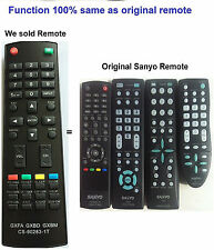 New Replaced TV Controller Remote Control sub Sanyo GXFA GXBD GXBM CS-90283-1T