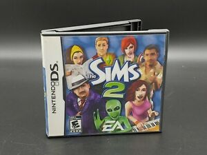 The Sims 2 Nintendo DS Game Box and Manual NO GAME