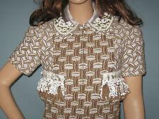 LOUIS VUITTON!!** Spectacular Embellished Dress Coat!! 36