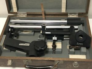 Canon Copy Stand Model 3 & 35mm Camera Holder R 4-2; Kit In Case JAPAN