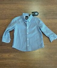 New with tags boys size 2 ABCD by Industrie long sleeve checked shirt RRP $49.95