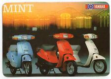 1988 Portugese Pocket Calendar Yamaha Mint Motorcycle Motorbike bike