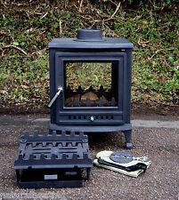 Nuri 8kw DUAL ASPECT wood burning multifuel fire woodburner multi fuel stove