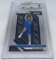 2018-19 Luka Doncic Panini Prizm Rookie RC #280 BGS 9 Mint 2x9.5 Subs