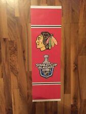 Chicago Blackhawks 2010 Stanley Cup Playoffs Vinyl Street Stadium Banner Champs