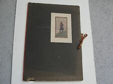 F.REMINGTON & CHARLES DANA GIBSON- ARTIST PROOFS IN FOLDER-1900s (8) Prints Set.