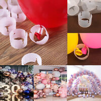 10pcs Balloon Arch Stand Connectors Balloon Clip Ring Buckle Wedding Party Decor