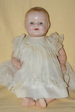 "Vintage RARE 16"" Marked ACME Toy Co. Composition & Cloth Baby Doll (1928)"