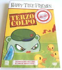 HAPPY TREE FRIENDS TERZO COLPO DVD ITALIANO COME NUOVO VENDITA CARTONI ANIMATI