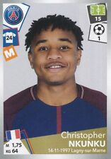 378 CHRISTOPHER NKUNKU PARIS SAINT GERMAIN PSG  STICKER PANINI FOOT 2018
