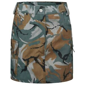 WOMEN/LADIES CAMOUFLAGE MINI SKIRT