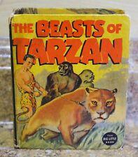 *1937 The Beasts of Tarzan The Big Little Book #1410 Free Shipping