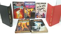 7 Book Lot SPIDER ROBINSON Science Fiction Sci Fi SciFi Callahan Jeanne Robinson