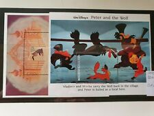 Maldives 1993 Disney's 'Peter and the Wolf' set of 2MS, MNH