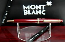 "Montblanc 164R  Burgundy - B.P ""RARE"" MINT & Flawless In Custom Mahogany Box!"