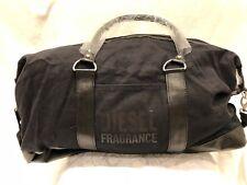 Diesel Mens Black Gym Weekend Duffel Bag