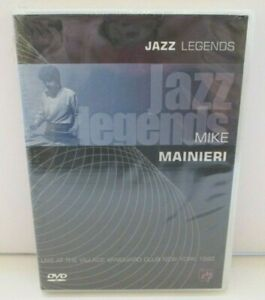 Jazz Legends Mike Mainieri DVD New And Sealed