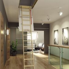 WOOD FOLDING LOFT STAIRS 70x100 70/100 FAKRO / Thermo Hatch ATTICK STAIRS