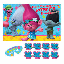 TROLLS POPPY & FRIENDS PARTY GAME POSTER Birthday Supplies Decorations Activity