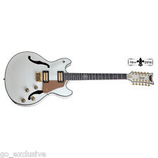 Schecter Wayne Hussey Corsair-12 Ivory IVY Electric Guitar NEW + FREE Gig Bag!