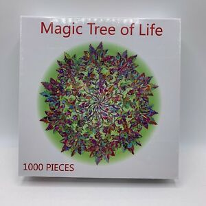 Bgraamiens Puzzle - Magic Tree Of Life -1000 Pieces Color Challenge New Sealed