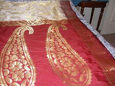 kanjivaram Style silk sari W designer Blouse Bridal Eid Party