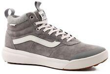 Men's Size 10 VANS Athletic Skate Shoes Sneakers UltraRange HI MTE Gray wool