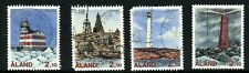 Aland Postally Used #64-67 Booklet Singles Seldom Seen 1992 AL134