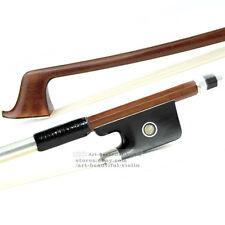 E.Sartory Copy Master Pernambuco Cello Bow 4/4 Ebony Parisan eye Silver 79.7g
