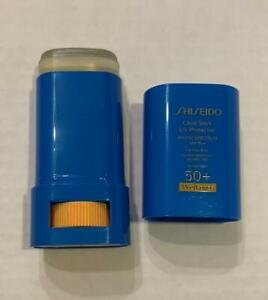 SHISEIDO Clear Stick UV Protector WetForce SPF 50+ 15 g For Face/Body Unboxed