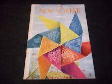 1949 SEPTEMBER 3 NEW YORKER MAGAZINE - BEAUTIFUL FRONT COVER FOR FRAMING- J 1366