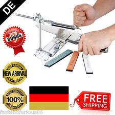 Scheibe Messerschleifer Schärfwerkzeuge Regelnwinkel Knife Sharpener +4 Stein DE