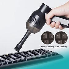 Portable USB Handheld Corner Desk Table Dust Vacuum Cleaner Sweeper Brush Clean