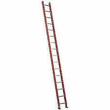 LOUISVILLE Fiberglass Straight Ladder,16 ft.,300 lb.,Fg, FE3116 FE3116