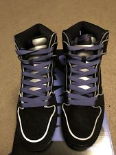2016 Nike Dunk High Elite SB SZ 11 The Black Box MF Doom Purple PRM 833456-002