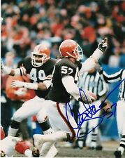 CLAY MATTHEWS  CLEVELAND BROWNS   ACTION SIGNED 8x10